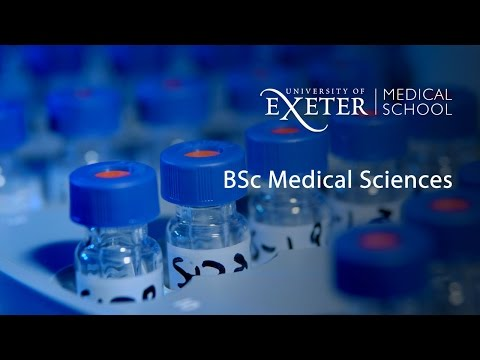 Study Medical Sciences at the University of Exeter Medical School