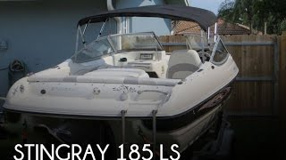 Used 2009 Stingray 185 Ls For Sale In Plantation, Florida