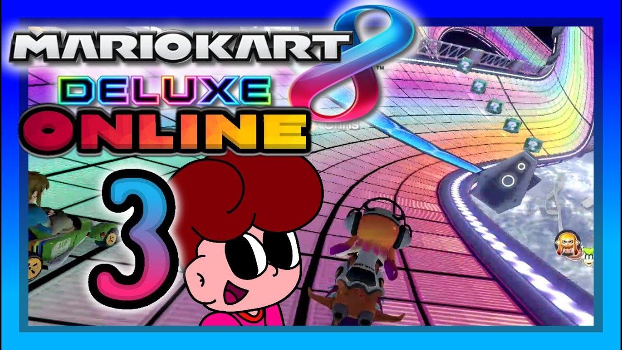 Mit Inkling Durch Die Online Welt Mario Kart 8 Deluxe Online 3