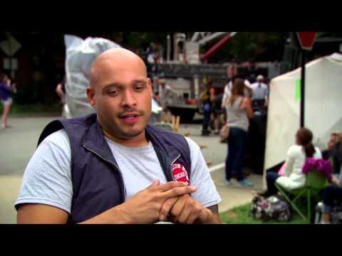 Chicago Fire Season 2: Joe Minoso On Set