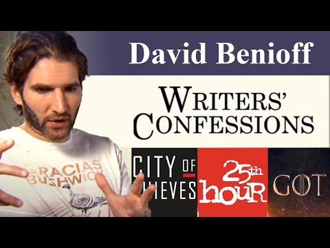 Writers' Confessions - David Benioff Discusses the Writing Process