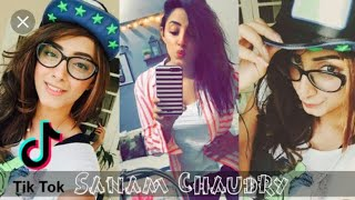 The cute and famous actress Sanam chaudhary tik tok video ❤ MUST WATCH