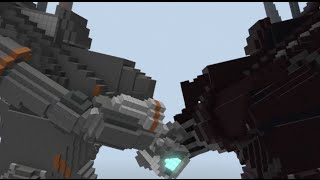 Minecraft - Giant Robot Fight