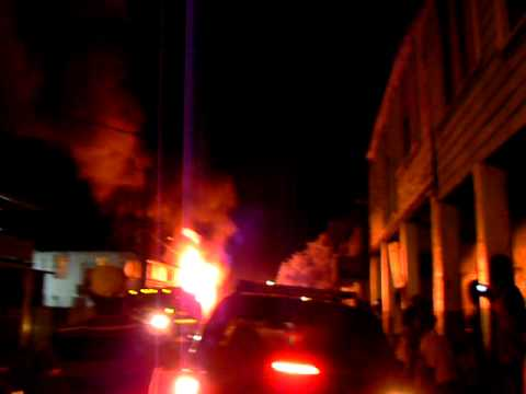 House Burning in Falmouth