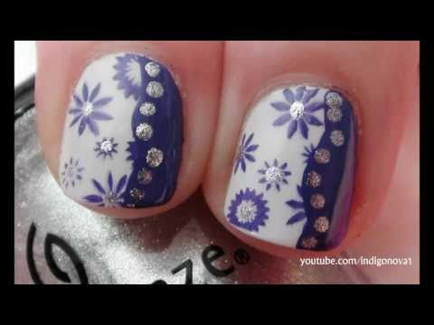 Simple Wavy Bundle Monster Design - Stamping Nail Art Tutorial thumbnail