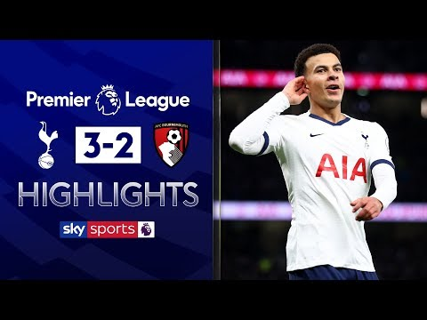 Dele Alli at the double! | Tottenham 3-2 Bournemouth | Premier League Highlights