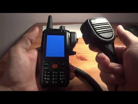 F25 Zello PTT phone side connector and Motorola 2 pin speaker mic adapter