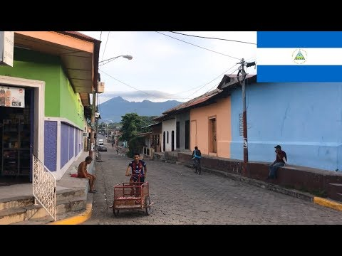 Nicaragua Granada town - street scenery, daily life, impressions 1