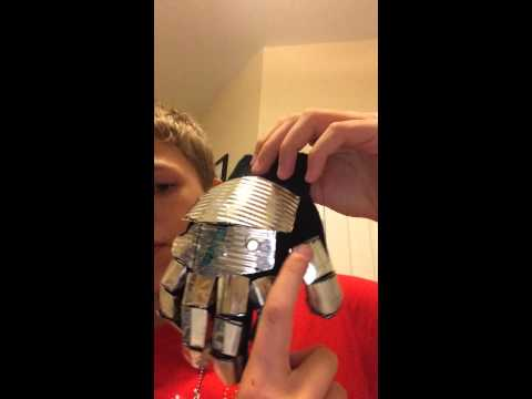 My new metal glove/gauntlet glove