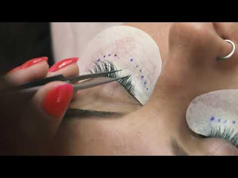 Наращивание ресниц в студии Beauty Bar