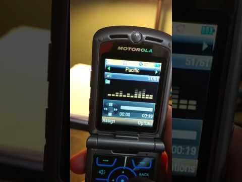 Motorola RAZR v3m ringtones Sprint