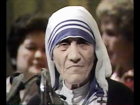 Interview with Mother Teresa