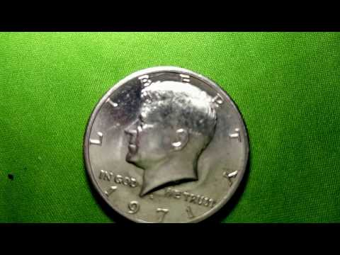 1971 D HALF DOLLAR POSSIBLE SILVER ERROR!!!???