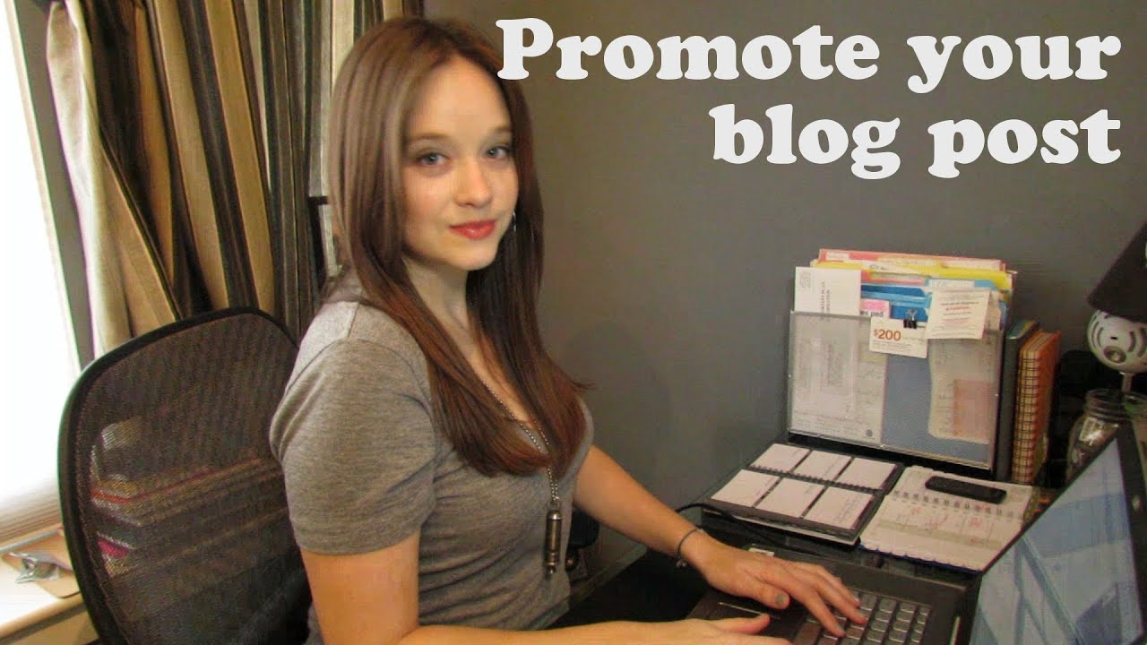 5 Ways to Promote Your Next Blog Post