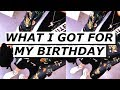 What I Got For My Birthday | Off White Crossbody Bag Review, Streetwear 2018| Gallucks