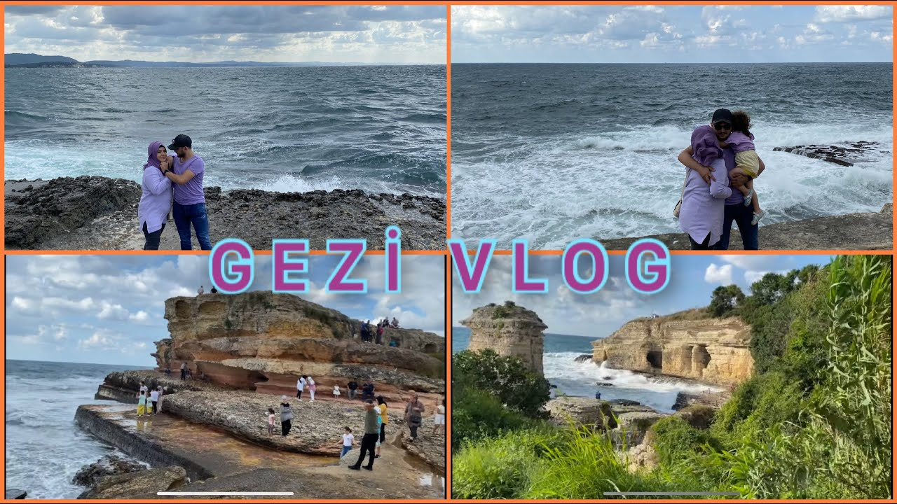 Karadeniz'in İncisi KANDIRA PEMBE KAYALARve KARTAL KAYALAR🏊🏻♂️Bayram Tatili #Vlog #kandıra #kerpe