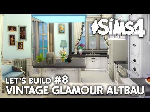 Küche | Die Sims 4 Haus bauen | Vintage Glamour Altbau #8