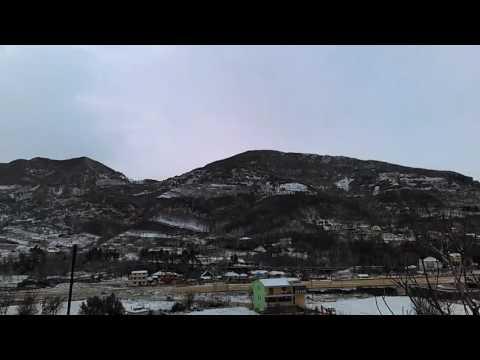 6 January 2017  Snowing in Petrela-Tirana-Albania