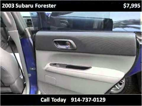 2003 Subaru Forester Used Cars Peekskill NY