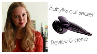 Babyliss Curl secret | Review & demo | StyleplaygroundTV