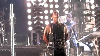 Rammstein 'Links 2 3 4' (BFD part 1 of 2) Quebec City Summer Music Festival 2010 (HD Close-up)