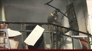 Пять человек пострадали при пожаре в многоквартирном доме по улице Ярославского в Якутске