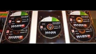 Mass Effect - Trilogy (распаковка/unboxing)