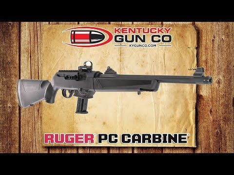 Ruger PC Carbine 9mm Takedown