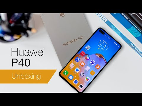 Huawei P40 unboxing and first impressions