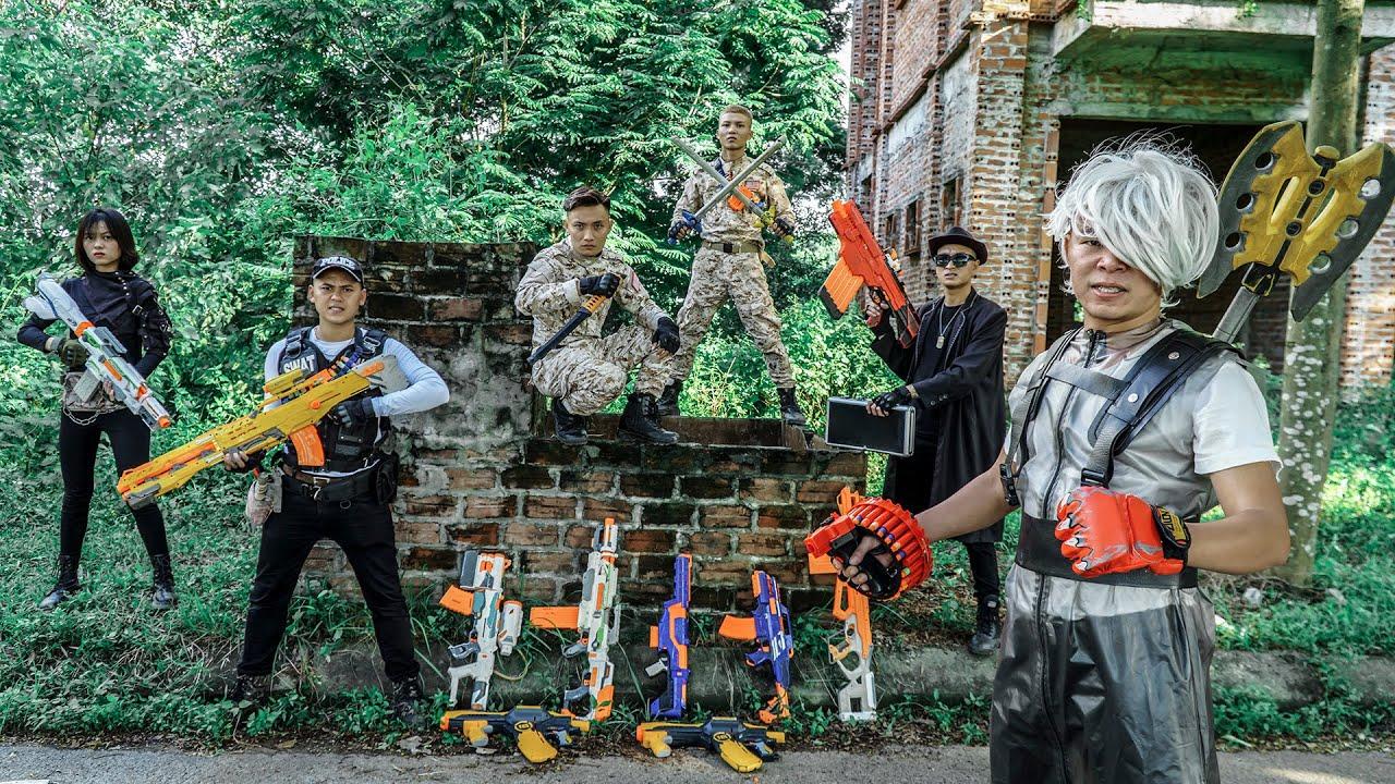 LTT Nerf War : SPECIAL SECTION SEAL X Warriors Nerf Guns Fight Criminal Group Dr Ken Crazy