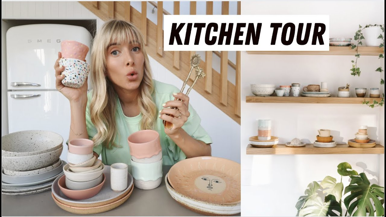 MY KITCHEN & CERAMIC TOUR!