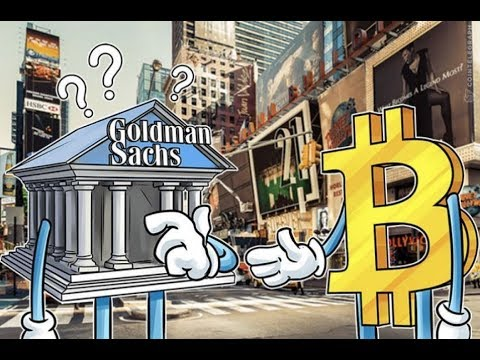 Goldman Sachs Cryptocurrency - Goldman Crypto Trading Desk