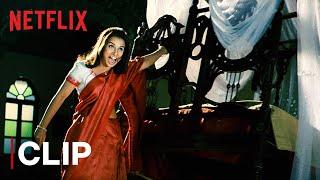 Monjolika Scary Bed Scene | Bhool Bhulaiyaa | Vidya Balan | Birthday Special | Netflix India