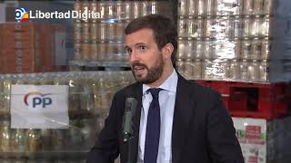 Pablo Casado afirma que la armonización fiscal de Sánchez es