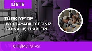Türkiye'de Uygulayabileceğiniz Dikkat Çeken İş Fikirleri! 😎