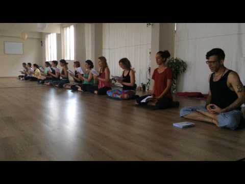 """The Great Dharani"" in Ashtanga Yoga Thessaloniki, 06.17"