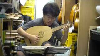 japanese song on renaissance lute 井上リュート製作工房 http://www.a...