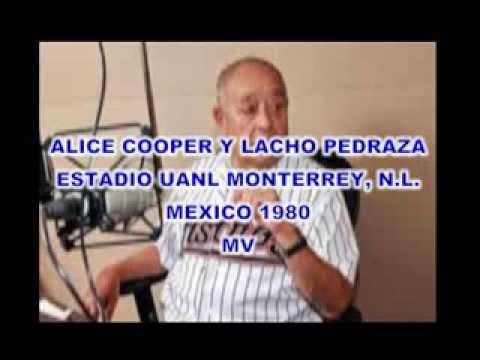 ALICE COPPER Y LACHO PEDRAZA ESTADIO UANL 1980