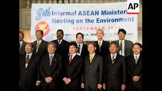 ASEAN Environment Mins meeting on regional pollution