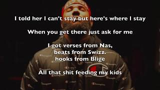 The Game - Ask For Me (LYRICS)