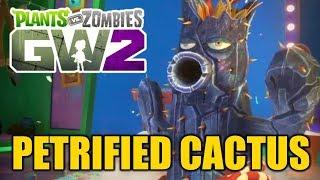 Растения против Зомби 2 Садовая Война - ОКАМЕНЕВШИЙ КАКТУС [Petrified Cactus] - Обзор