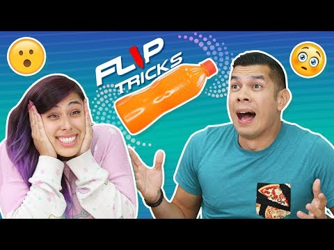 FLIP IT BOTTLE CHALLENGE GAME- For Fun Sake - Toy Box Collectibles