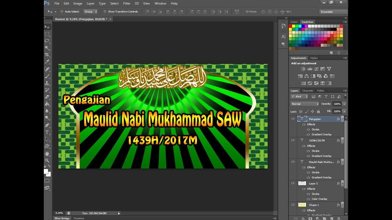 Unduh 8400 Koleksi Background Untuk Banner Maulid HD Gratis
