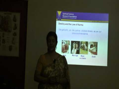Spiritual Dimensions -- How It Affects Us By   Ms. Smita Panigrahi