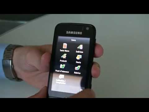 Samsung S8000 Jet - Video Preview Ufficiale 1/6