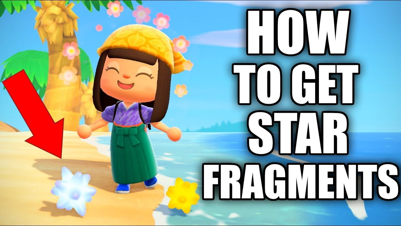 How To Get Star Fragments In Animal Crossing New Horizons