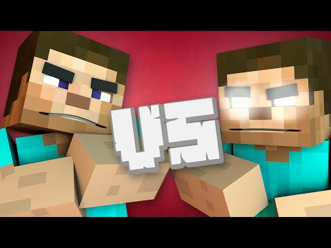 Steve vs Herobrine (MINECRAFT RAP BATTLE)