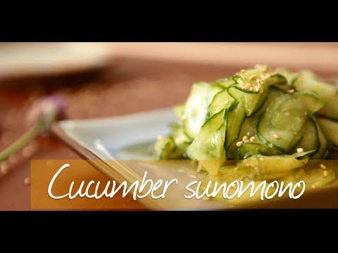 Baixar Cucumber sunomono salad - Japanese video recipe