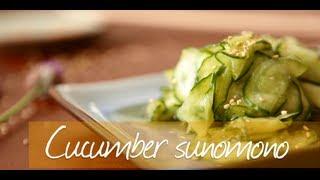 Cucumber Sunomono Salad - Japanese Video Recipe