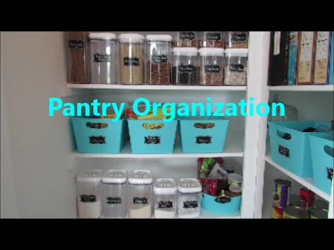 Pantry Organization | Dollar Tree Organization